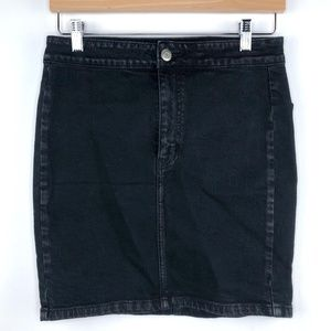 American Eagle Black Super Stretch Pencil Skirt